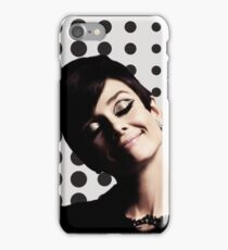 Audrey Hepburn, happy place. iPhone Case/Skin