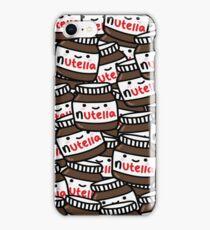 Cute Nutella Pattern! iPhone Case/Skin