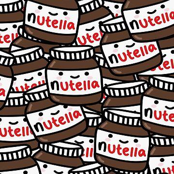 Cute Nutella Pattern! by MBroadbridgee