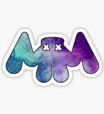 Marshmellow Galaxy Logo Sticker