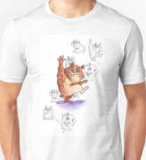Hamster with Character Concept Sketch T-Shirt