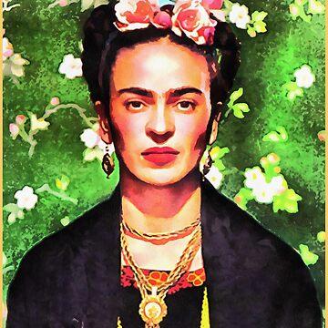frida kahlo by monitata