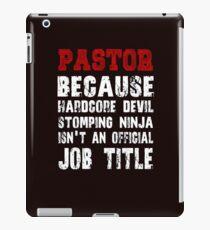 Because Hardcore Devil Stomping t-shirt iPad Case/Skin