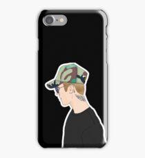 Justin Profile Drawing iPhone Case/Skin
