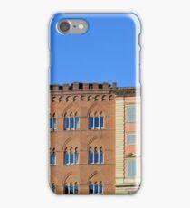 Ornamental buildings facadesfrom Siena, Italy iPhone Case/Skin