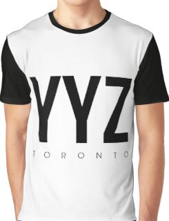 YYZ - Toronto Airport Code Graphic T-Shirt