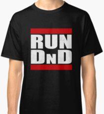 Camiseta clásica Ejecutar DnD