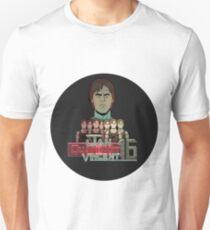 Jan Michael Vincent Quadrant 16 Unisex T-Shirt