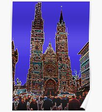 The Cathedral of Saint Lorenz - Nuremberg Poster