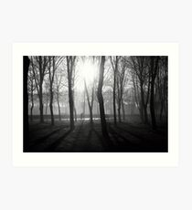 N°255: Street photography Black and White Art Print