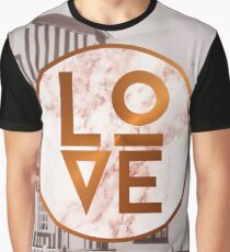 Marble Love Graphic T-Shirt