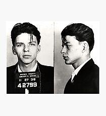 Sinatra Mugshot Photographic Print