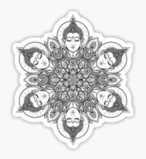 Buddha Mandala Sticker