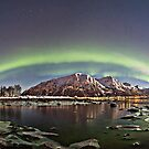 Icy beach by Frank Olsen