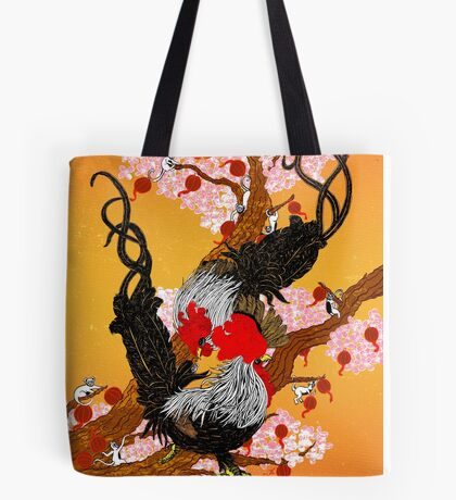 Year of the Fire Rooster Tote Bag