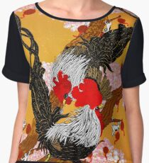 Year of the Fire Rooster Chiffon Top