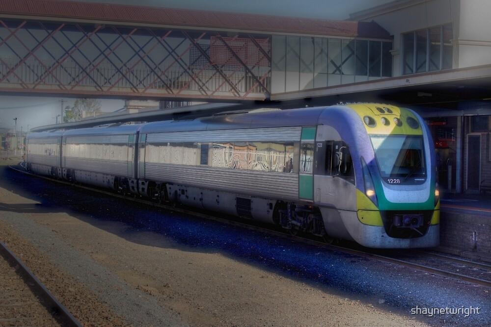 Velocity train - Bendigo by shaynetwright