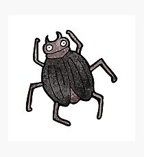 cartoon beetle Photographic Print
