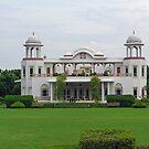 Beautiful white building by ashishagarwal74
