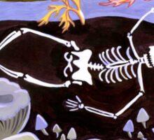 A Joyful Celebration of Death Sticker