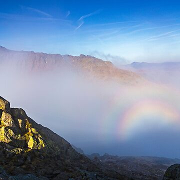 Glory Below Bowfell by davidlewins