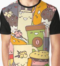 Fast  Food illustration Graphic T-Shirt