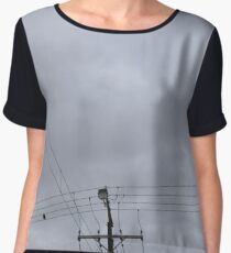 Wires Women's Chiffon Top