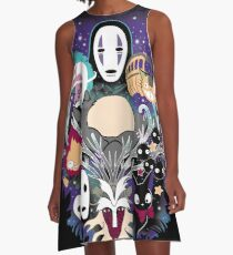 Ghibli Dreams A-Line Dress