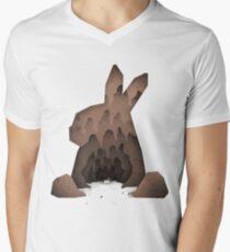 That's No Ordinary Rabbit Men's V-Neck T-Shirt