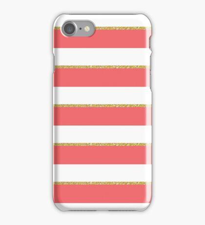 hori stripee iPhone Case/Skin