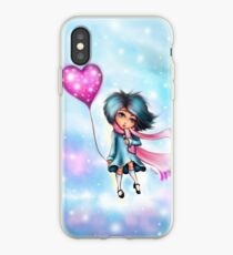 A Dream of Heart and Stars - Kawaii Valentine iPhone Case