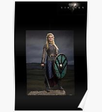 'Lagertha the Shield Maiden' from the vikings Poster