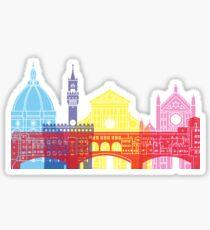Florence skyline pop Sticker