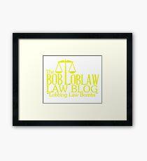 arrested gold Framed Print