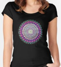 Fractals Women's Fitted Scoop T-Shirt