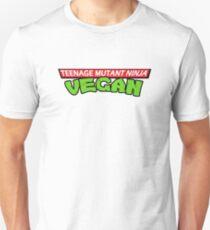 Teenage Mutant Ninja Vegan! Unisex T-Shirt