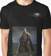 'Ragnar Lodbrok King of the Vikings' from the Vikings Graphic T-Shirt