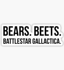 Battlestar Gallactica Sticker
