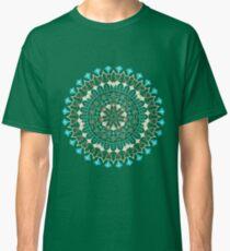 Floral Mandala illustration Classic T-Shirt