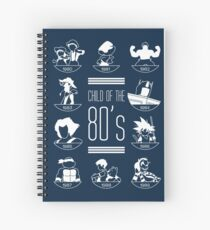 Child of the 80's Spiral Notebook