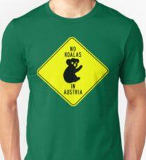 NO KOALAS IN AUSTRIA Unisex T-Shirt