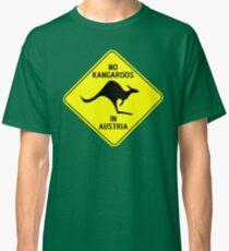 NO KANGAROOS IN AUSTRIA Classic T-Shirt