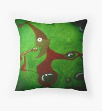 The Pothead Pixie (A Tribute To Gong)  Throw Pillow