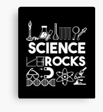 Science Rocks - Science Equipment - Scientific Experiment Gift Canvas Print