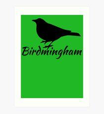 Birdmingham Art Print