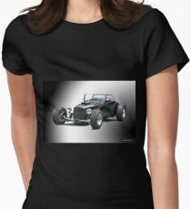 1937 Ford 'Track T' Roadster Womens Fitted T-Shirt