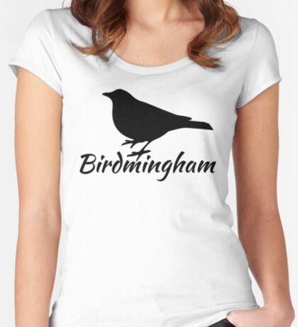 Birdmingham Women's Fitted Scoop T-Shirt