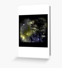 Gallifrey mirage Greeting Card