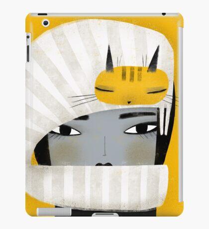 HAT SCARF COMBO iPad Case/Skin