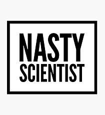 Nasty Scientist Photographic Print